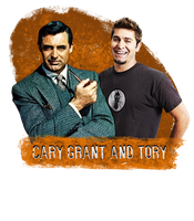 Cary Grant and Tory by Kydoon
