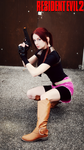 Resident Evil 2 Claire Redfield Cosplay by Hamm-Sammich