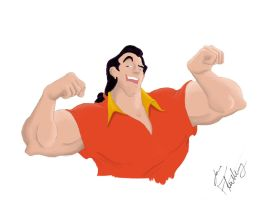 Gaston by joeflattery
