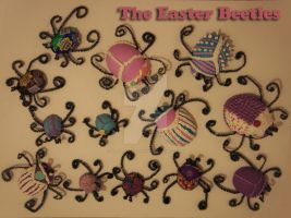Easter Beetles by 1lonely-goatherd