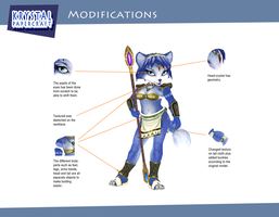 Krystal Papercraft: Modifications by CartoonGurra