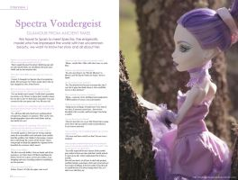 MH Fashion: Interview with Spectra by MySweetQueen-Dolls