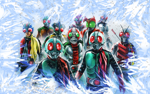 Kamen Riders by ShoguN86