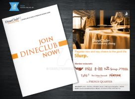 Dine Club Brochure by decolite