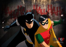 Batman and Robin by DESPOP