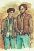 Grimm - Nick + Monroe - Sin titulo by Bisho-s