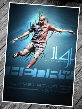 Thierry Henry Flyer by ehlikeyif