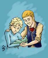 Sabre and Elsa Request by Cattidy
