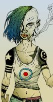 tankgirl by pumpkynhead