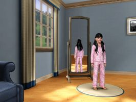 Sims 3 - Me in child form in night outfit 1 by Magic-Kristina-KW