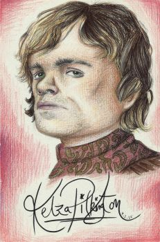 Tyrion Lannister by chibikelzafox
