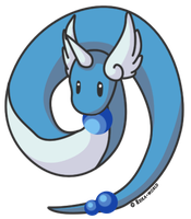 148 Dragonair by reika-world