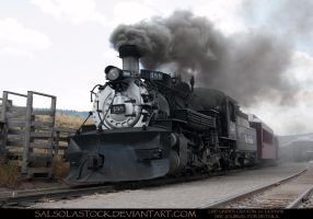 Steam Train 1 by SalsolaStock