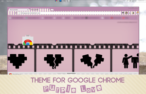 Theme Google Chrome BHR by iBeHappyRawr