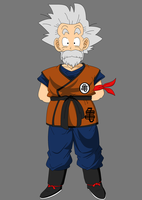 Grandpa Goku jr. by OWC478
