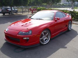 Toyota Supra Cars and Coffee by Partywave