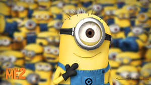 Despicable Me 2 Minion Wallpaper by SameerHD