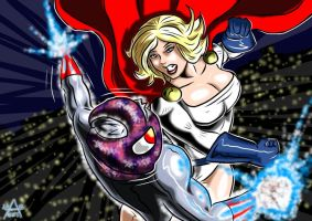 Powergirl : Dark Star (6) Clash by adamantis