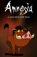 Amnesia - Mr. Pig by IsisMasshiro