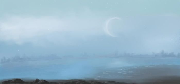 Speedpainting: Bay Fog by Corvus-Rose