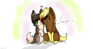 I love you - HS Chibi's by Sniperisawesome