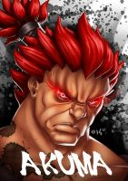 SF4 - Akuma by koyote974