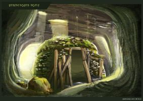 Cave Dwelling by Clotaire