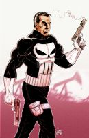 Punisher in Color by ArtisticSchmidt