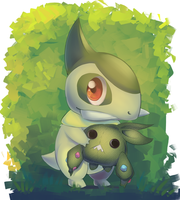 Axew by Joltik92