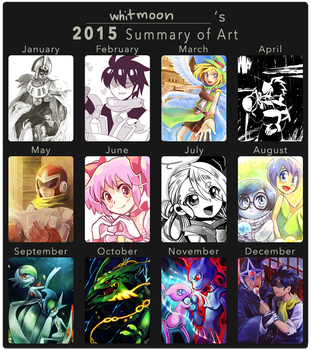 2015 Art Summary by whitmoon