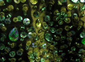 Stock texture - Sequins green by rockgem