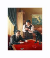 Card Players by H-Magoria