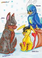 LovercAts_the 3 guardians of King Ersen by Starlightina88