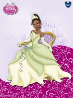 DisneyPrincess - Tiana3 ByGF by GFantasy92