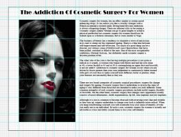 Grid design for a magazine layout by whendt