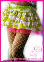 Dinorawrrrr skirt by love-on-a-stick