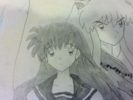 Inuyasha and Kagome by jt0002