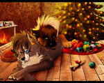 .:The warmth of Christmas:. by Treachirani