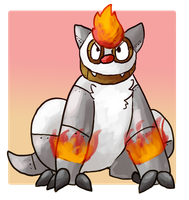 [Com-PKMN] Fire/Steel Vigoroth