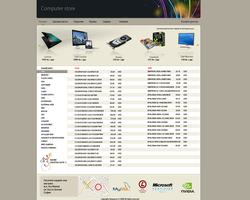 Computer store template by astoyanov