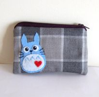 Totoro adorable pouch by yael360