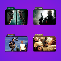H Movie Folder Icon Pack by Kliesen