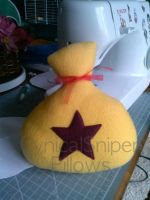 Animal Crossing Bell Bag Plush by CynicalSniper
