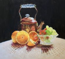 Tea Pot Still Life by mbeckett
