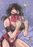 COMMISSION PSC - Mileena by The-Real-NComics