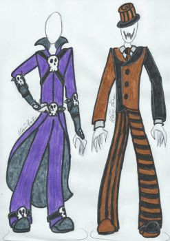 Darko and Mad Hatterman by AtroxReaperJunior