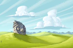 Naboo Grass Plains by CamaraSketch