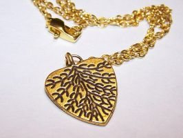 Branches of my Heart Necklace by AknieGirl