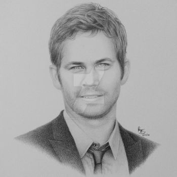 Paul Walker by FromPencil2Paper