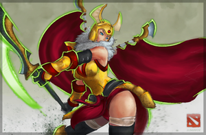 Dota 2 Legion Commander by CyberBladeVN